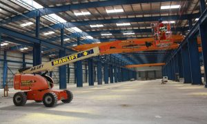 Manlift to provide depot tour for IPAF visitors