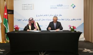 Saudi Jordanian Investment Fund signs $705mn rail network deal