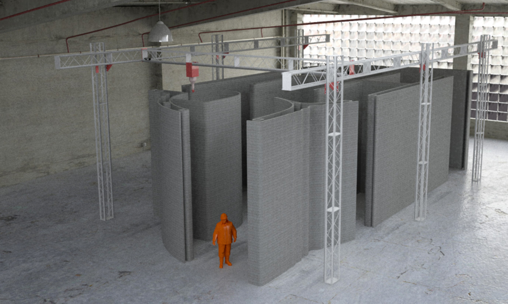 KSA company buys largest 3D construction printer in the world