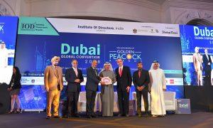 Apollo Tyres wins prestigious Golden Peacock award