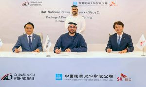 Etihad Rail awards $408mn deal to CSCEC and SK Engineering and Construction JV