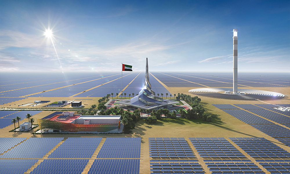 UAE to invest $163bn in sustainable energy until 2050