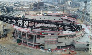 Mega project: Raising the Coca-Cola Arena roof