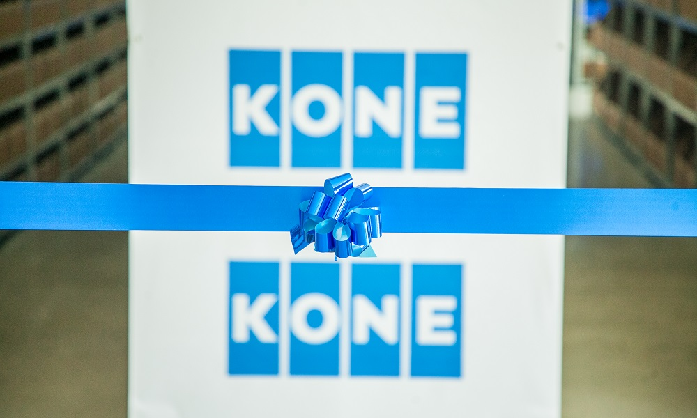 KONE opens first distribution centre for region in UAE | Middle East