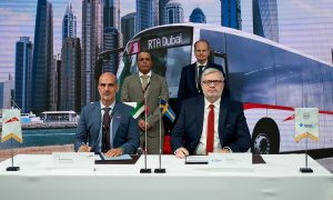 FAMCO and Volvo Buses secure record bus order with RTA