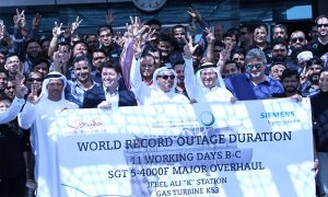 Dewa sets new world record for gas turbine overhaul
