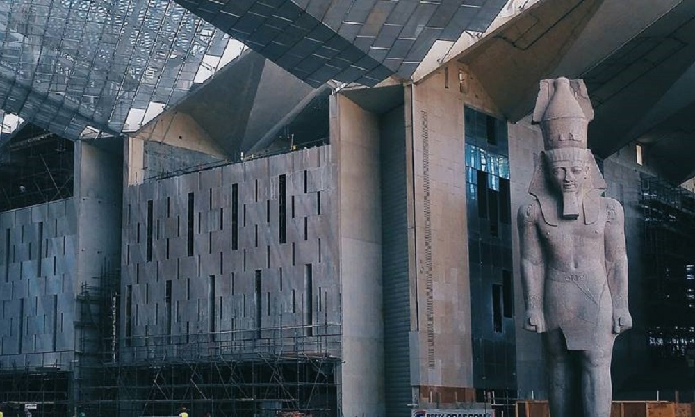f0be78ad 167,000sqm museum has had structural works fully completed, officials reveal