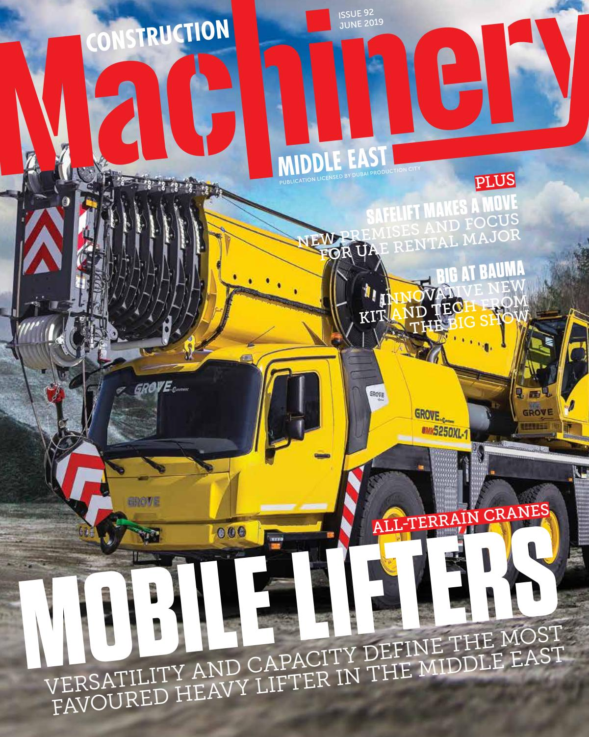 Construction Machinery | Middle East Construction News