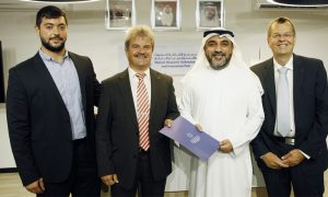 German group to set up research facility in Sharjah