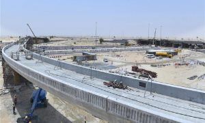 65% of construction work on Al Qudra-Lehbab Roads Intersection Project completed
