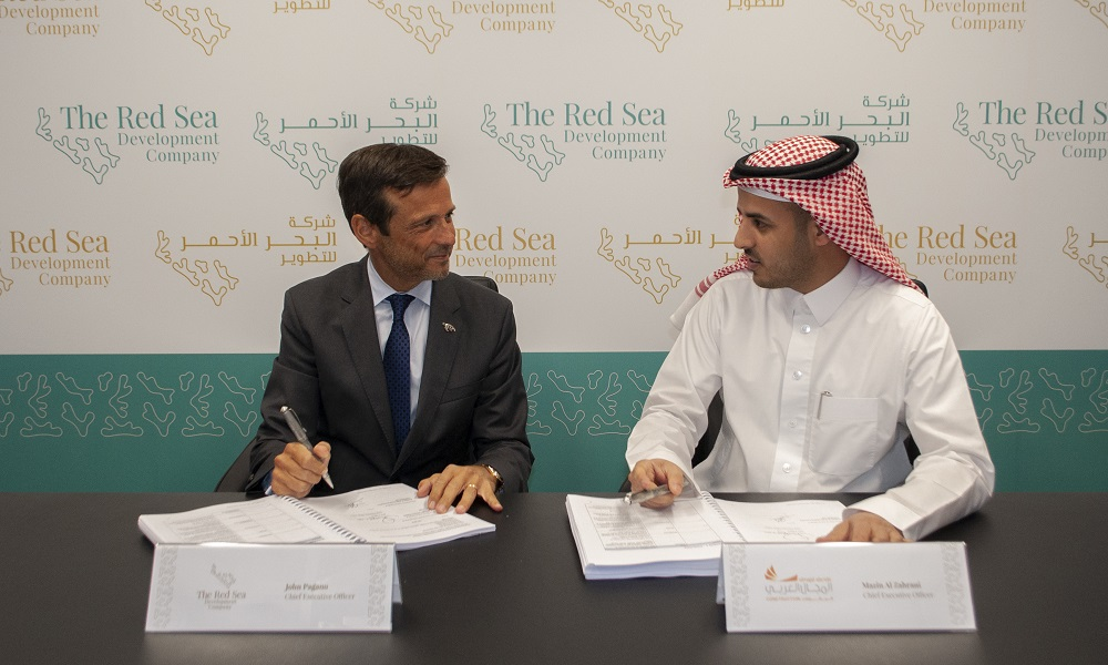 Contracts signed as construction of Red Sea Project's Coastal