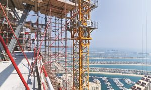 Site Visit: The challenge of building Nakheel's spectacular Palm Tower