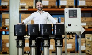 Optimisation can reduce energy consumption up to 70%, says Grundfos' Kostas Poulopoulos