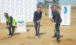 Acciona lays foundation stone for IWP Saudi desalination plant