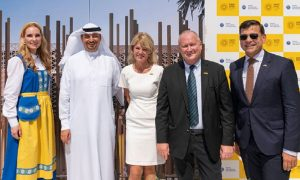 Sweden breaks ground on Expo 2020 pavilion