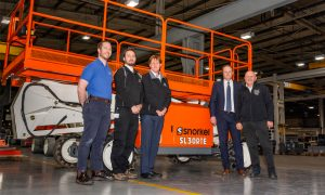 Snorkel starts production of its first-ever lithium-ion battery access platforms