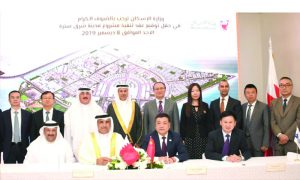 Bahrain signs $691mn contract with China's CMEC
