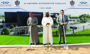 W Motors begins construction of $100m facility in Dubai Silicon Oasis