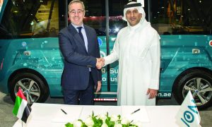 UAE's ION partners with NAVYA to offer sustainable transportation in the region