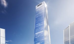 DMCC says super-tall Uptown Tower reaches new milestone