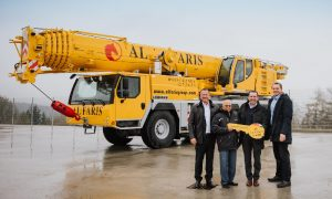 Al Faris places order for 69 new Liebherr cranes