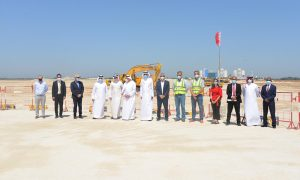 Top officials briefed about construction progress on $220mn Bahrain International Exhibition and Convention Centre