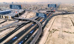 RTA completes construction works on roadworks and bridges for Dubai Hills Mall project