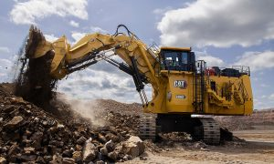 Cat unleashes new hydraulic mining shovel
