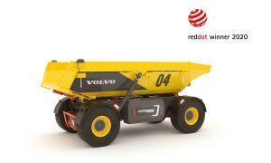 Red Dot Award for Volvo autonomous hauler