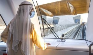 HH Sheikh Mohammed inaugurates operations for RTA's Route 2020 project
