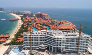 Azizi Developments says Mina project on Palm Jumeirah is 94% complete