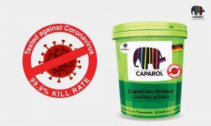 Caparol paint product proven to be effective against Coronavirus