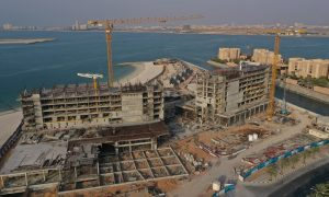 RAK AMI Hotel passes 40% milestone on Mövenpick Resort Al Marjan Island project