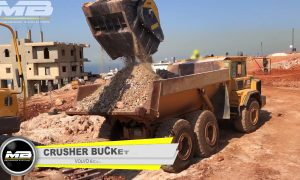 MB Crusher helps in Lebanon water project