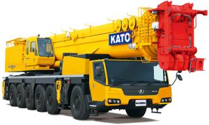 Kato launches new 300t all-terrain crane