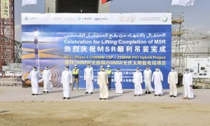 Mohammed bin Rashid inaugurates phase three of Solar Park