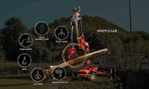 Jekko introduces JF545 V-Max spider crane