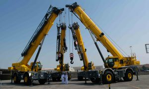 Tamimi Rentals orders 50 new Grove rough-terrain cranes