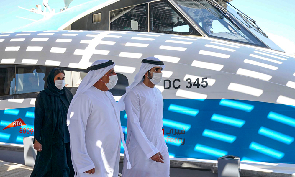 Gallery: Sheikh Hamdan visits $1.36bn Shindagha Corridor Project