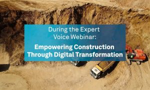 Join the LIVE Webinar on Empowering Construction Through Digital Transformation