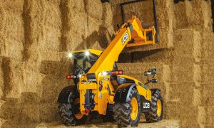 JCB enhances power and transmission on new telehandlers
